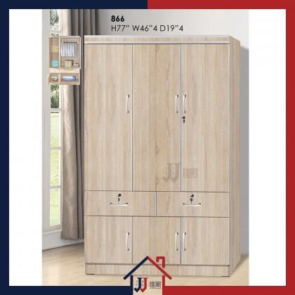 Wardrobe with 6 Doors & Drawer