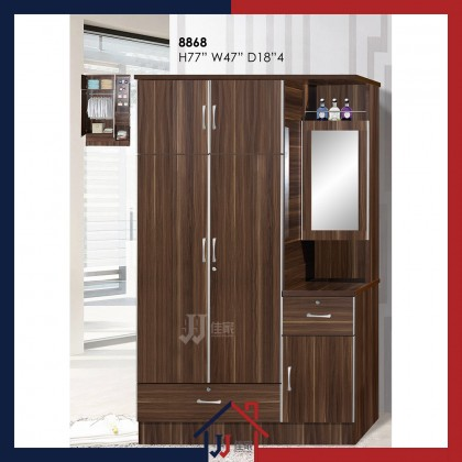 Wardrobe with Make-Up Compartment