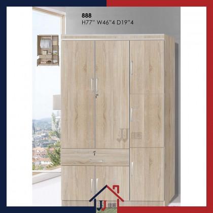 Wardrobe with 7 Doors & Drawer