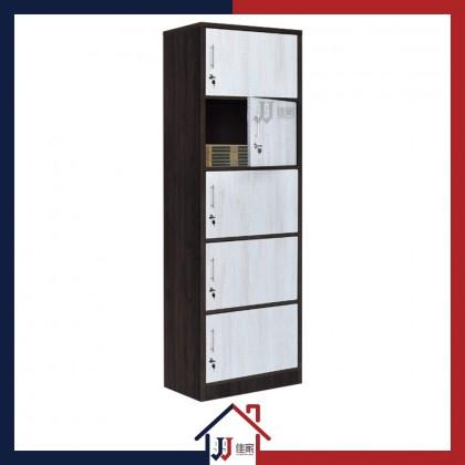 Book Shelf & File Cabinet with Lockable Door
