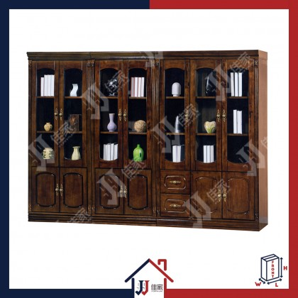 KLASS Bookshelf & Display Cabinet with 2 Doors