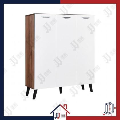 CAVAN 3 Doors Shoe Cabinet with 6 Compartments